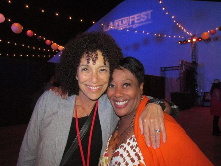 Film Independent President Stephanie Allain and Carla Renata