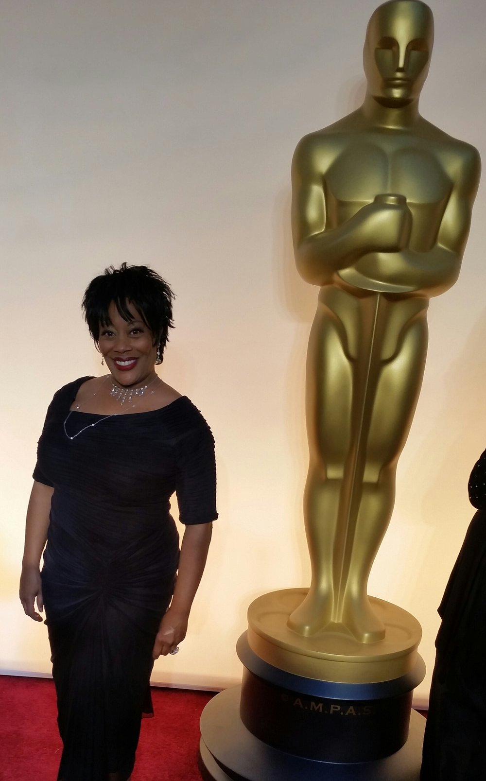 carla renata on the oscar red carpet