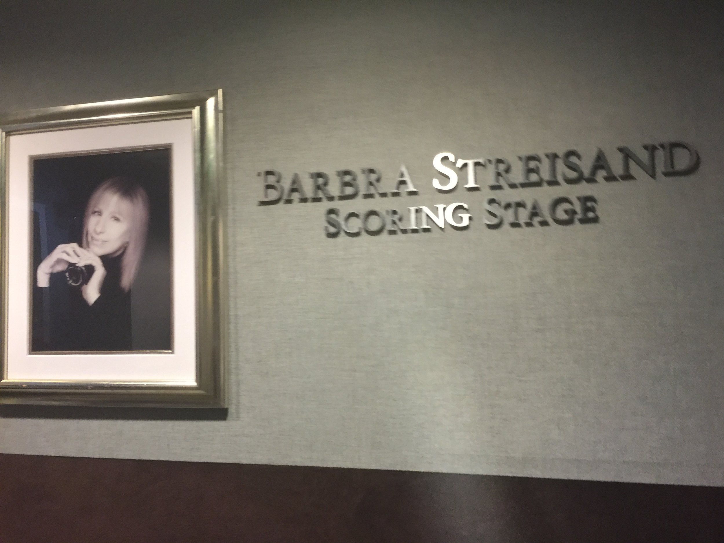 Streisand Sound studio