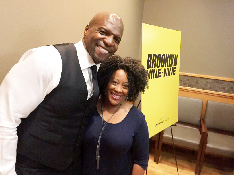 Carla Renata and Terry Crews