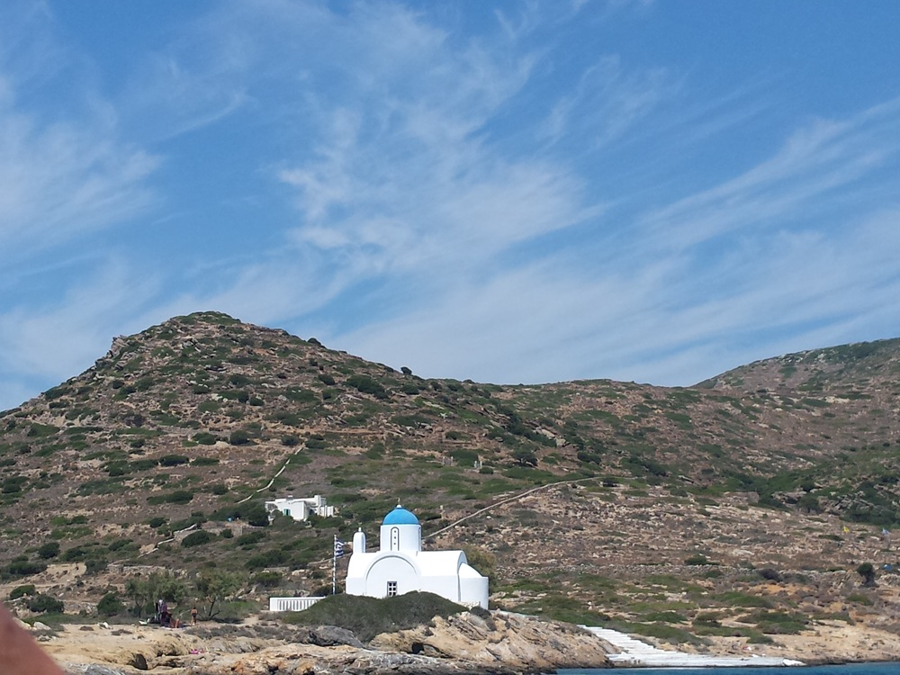Inland view of Amorgos
