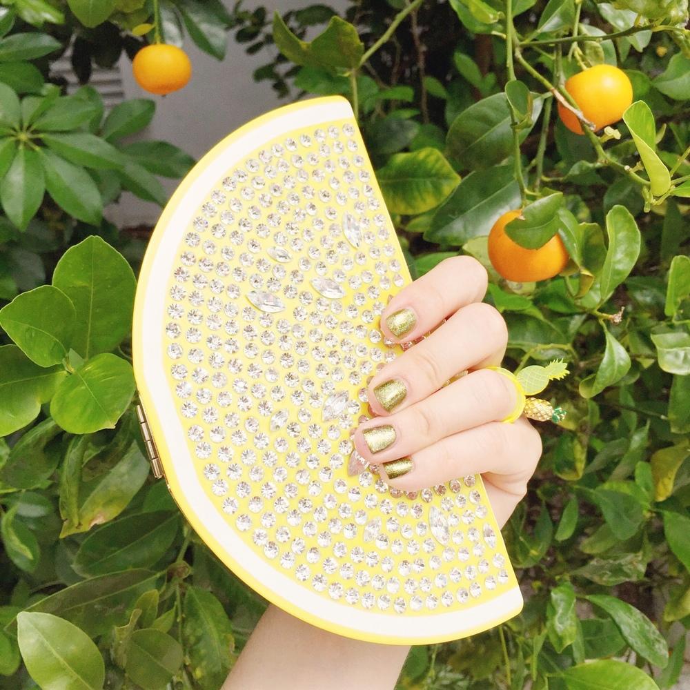 lemon and pineapple!