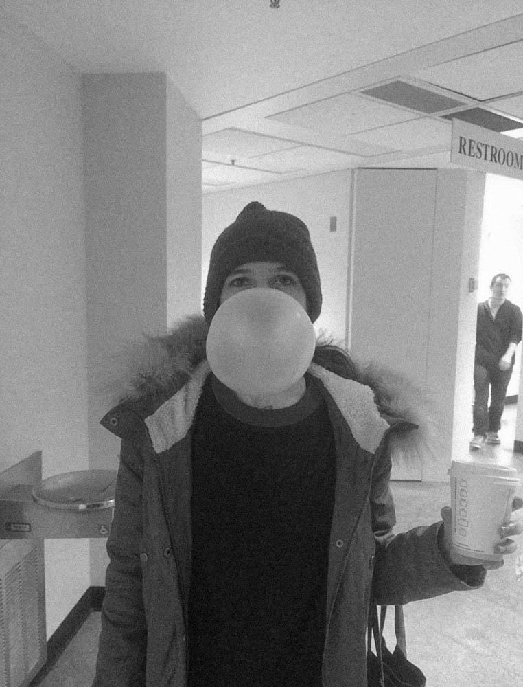Jesy at school