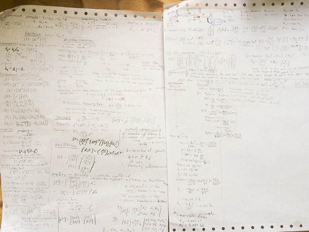 notes + study materials