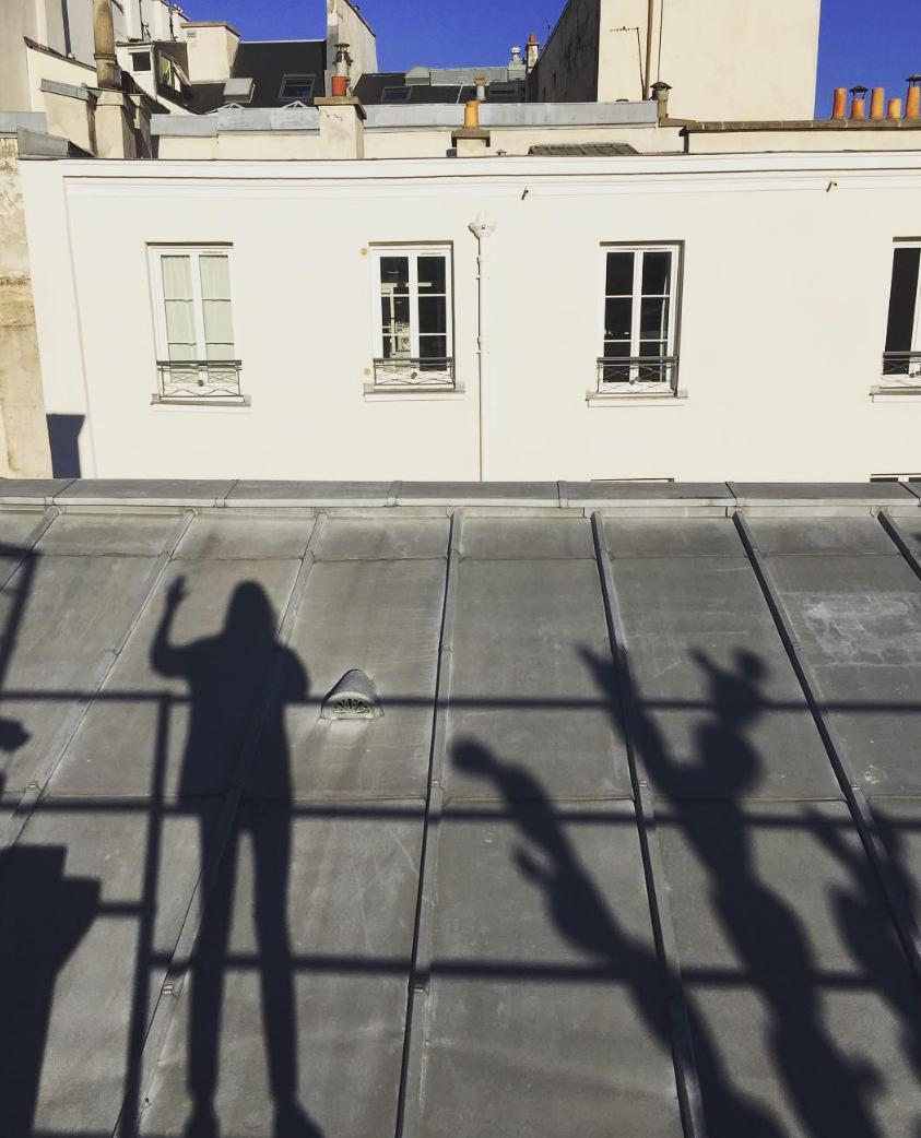 shadows from Paris