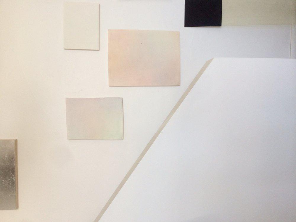 Lauren's studio