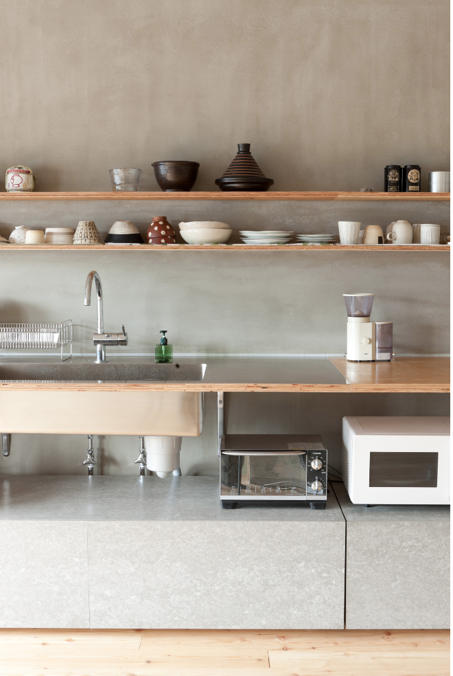 "Image that inspired me to remodel our kitchen.  ""A Restaurant Supply Kitchen in Tokyo"" Via Remodelista"