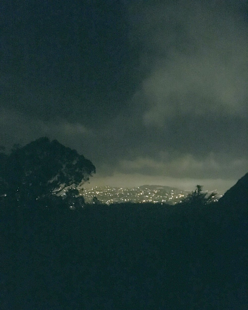 Bernal at night