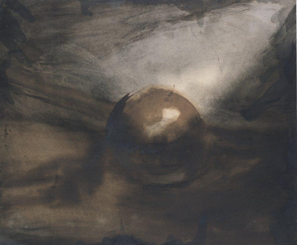 "Victor Hugo, ""La Planete (Saturn)"", 1872"