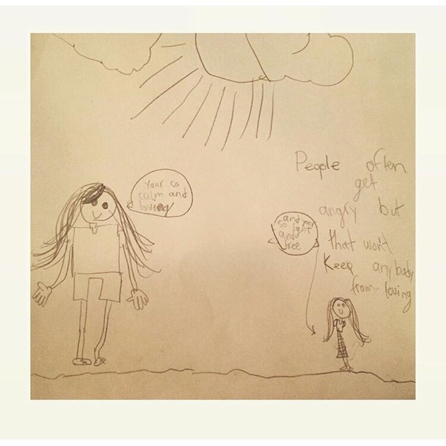 A post-election drawing from Penelope
