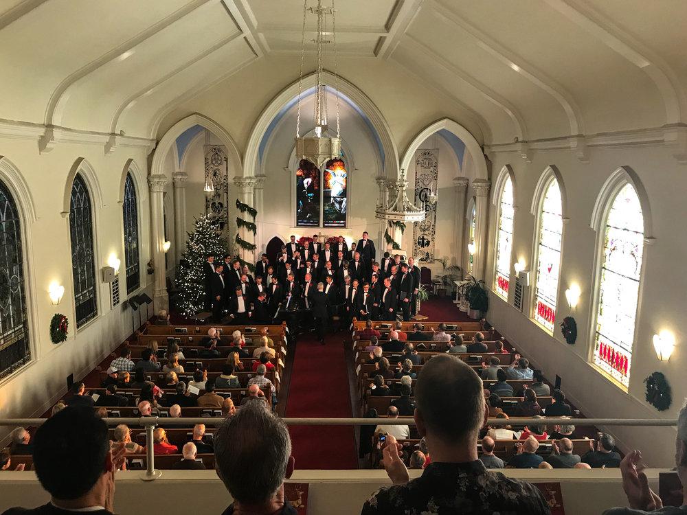 The Golden Gate Men's Choir