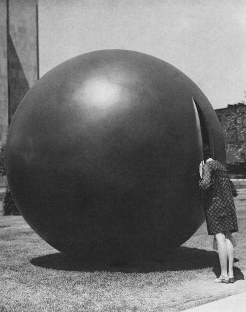 Sculpture by Arthur Handy, Montreal, 1967