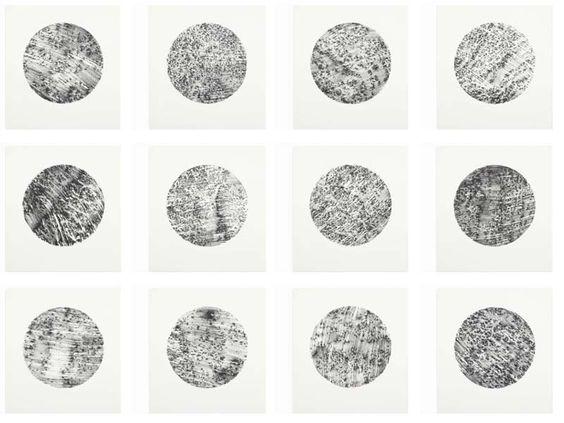 Rock Drawings by Richard Long, 1994