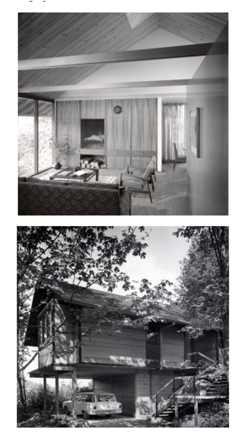 new house — in 1962