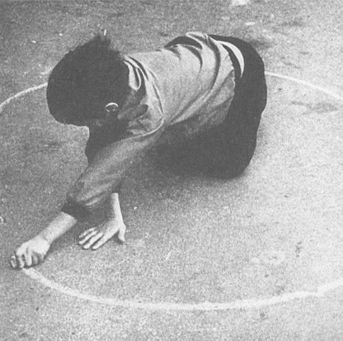 Louis Stettner - L'enfant à la patinette - 1952