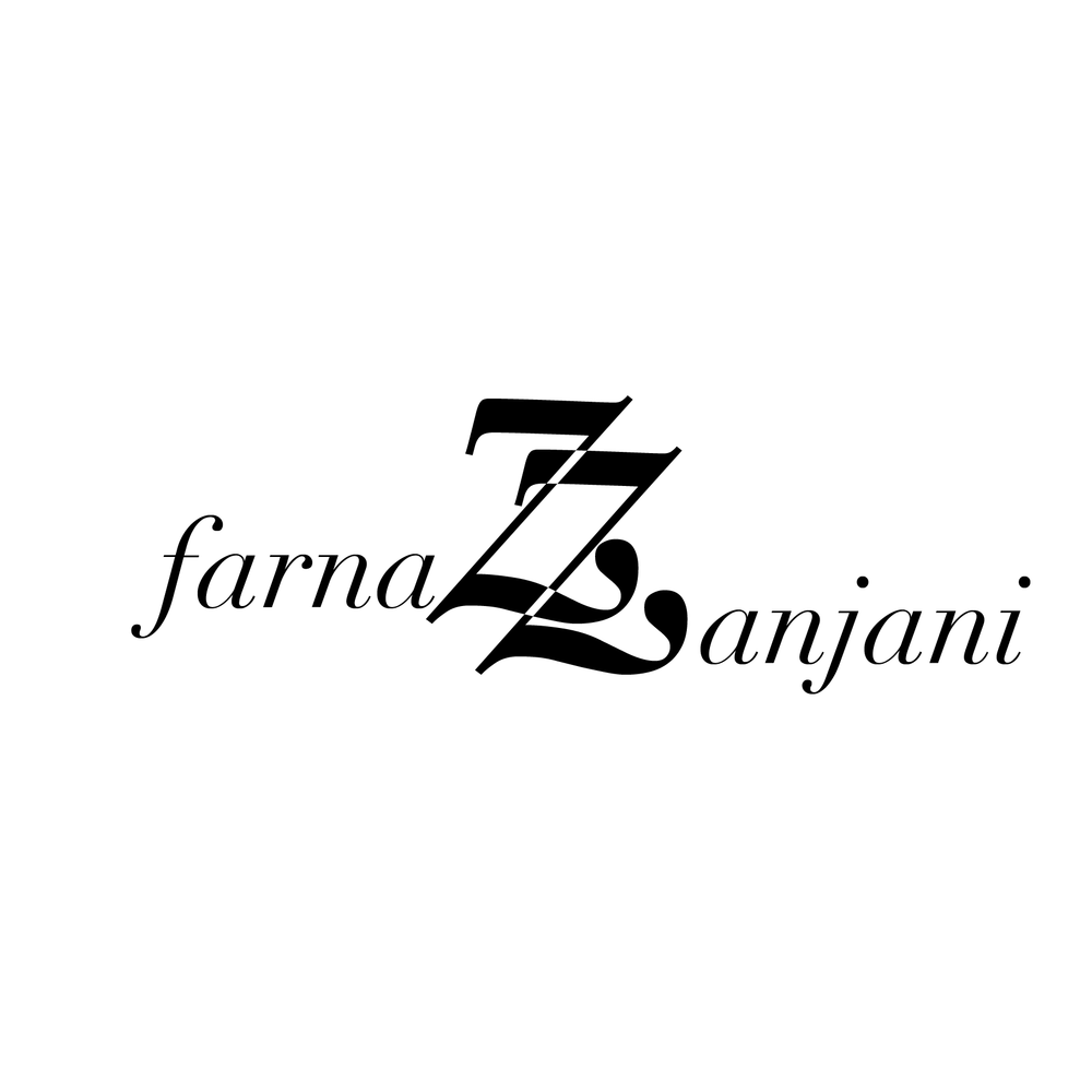 - Logo Design for blogger Farnaz Zanjani