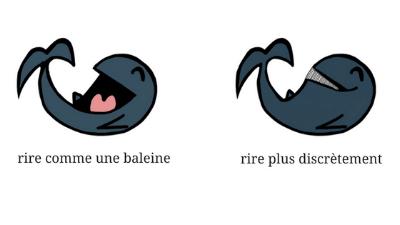 Rire comme une baleine