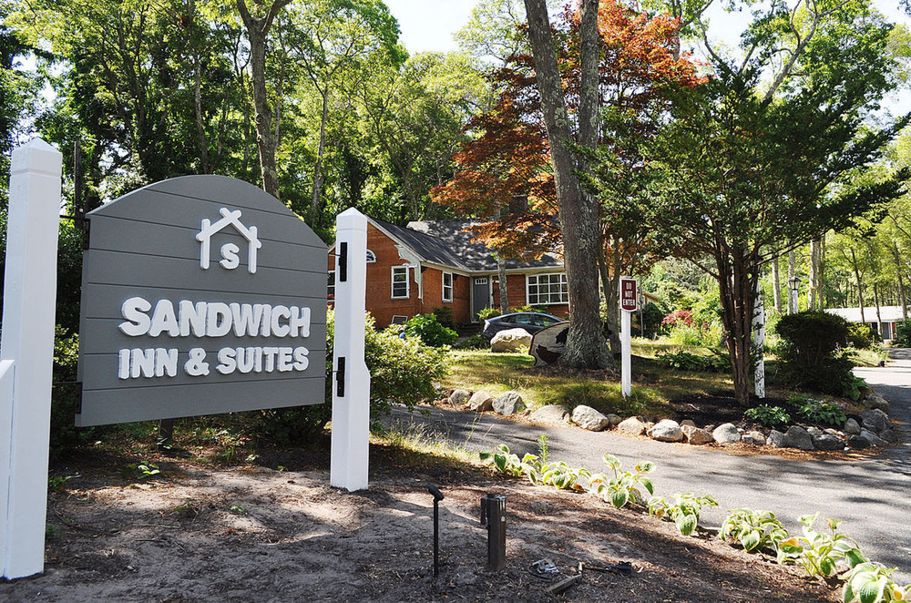 The former Shady Nook Inn has been transformed into the Sandwich Inn & Suites.