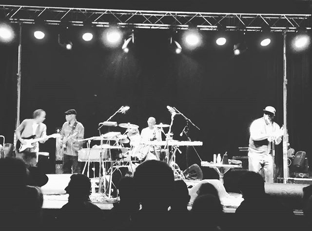 Saw the jazz legend roy ayers perform tonight at the derry jazz festival #royayers #jazz #jazzfestival #concert #bankholiday