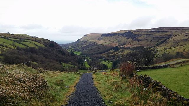 #glenariff #forest #antrimcoast #view #scenery #ireland #fields #epic