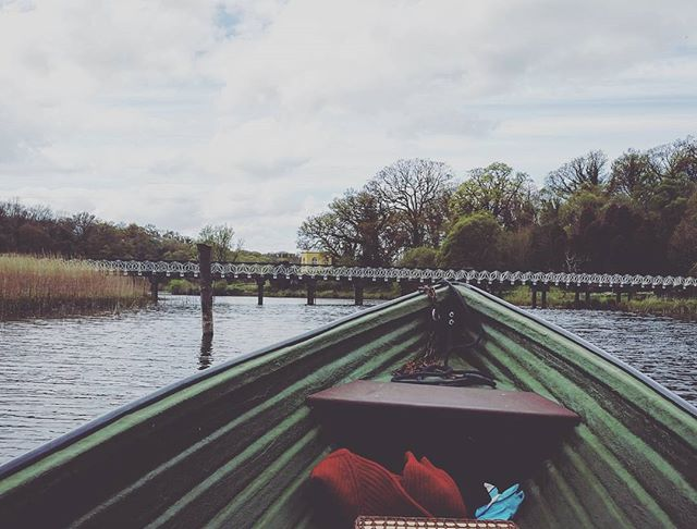 Epic boating adventure with my best friend to celebrate her birthday #adventure #crom #daytrip #boat #river #fermanagh #scenic