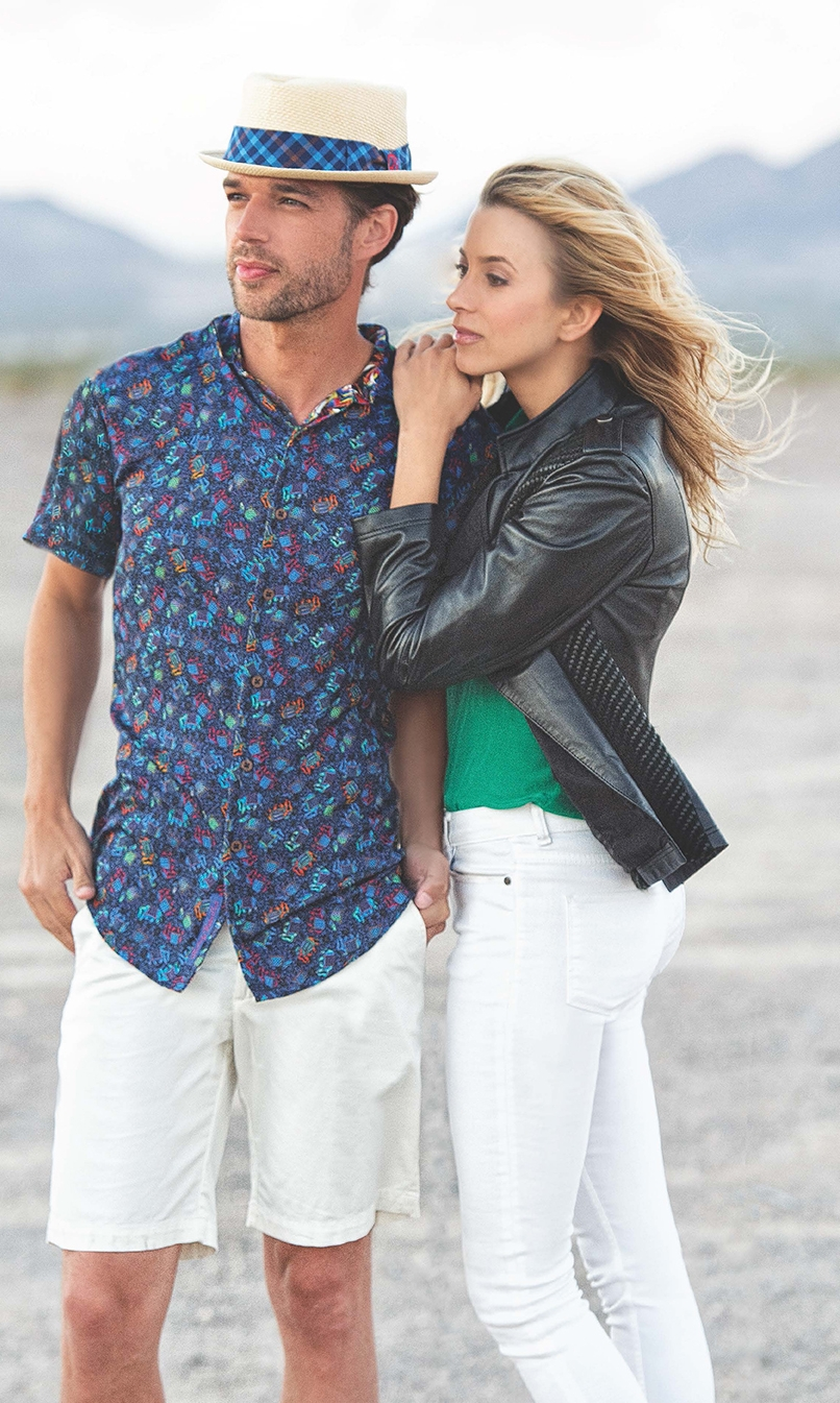 Robert Graham Shirts Couple