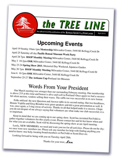 Treeline Newsletter