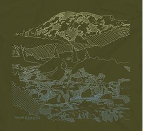 Sketch Rainier