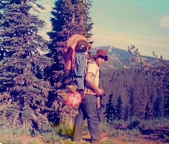 Pacific Crest Trail, Myself, and Subalpine Firs