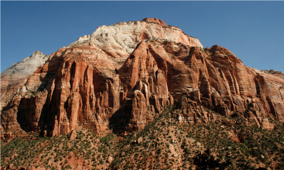 Majesty – The grandeur and majesty of Zion. This is what it looks like everywhere you turn.