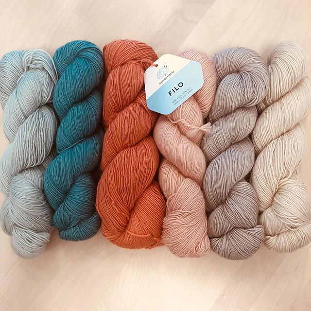 @cloud9fabrics FILO just arrived in store! Beautiful subtle thick to thin texture. 80% wool and 20% silk. . . . . . . . . . . . . . . . . . . . . #yarn #fiber #wool #fiberart #knit #knitting #knitter #knittersofinstagram #crochet #crocheter #crocheting #crochetersofinstagram #make #makers #makersgonnamake #create #color #colorful #indiedyer #indiedyed #brookline #boston