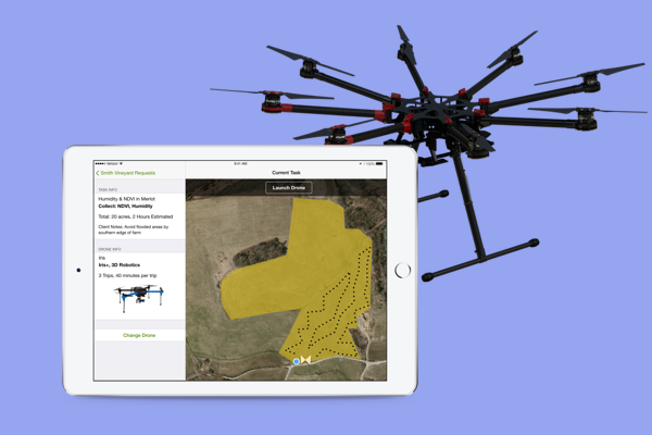 IBM - DRONES & FARMING, Data & Analytics  Product Design