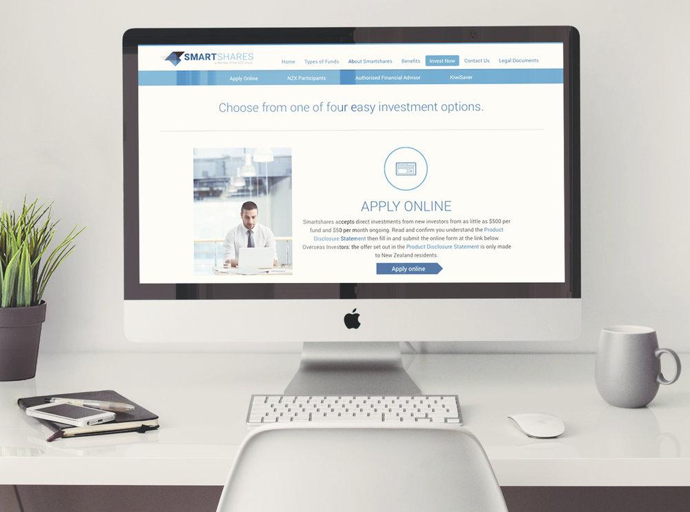SmartShares website