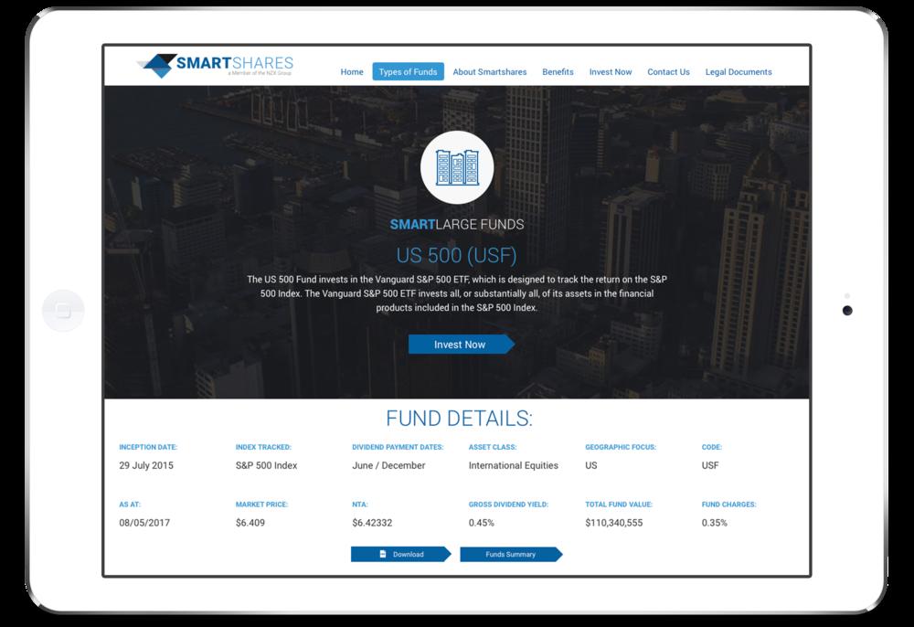 SmartLarge Funds US 500. Click image to enlarge.