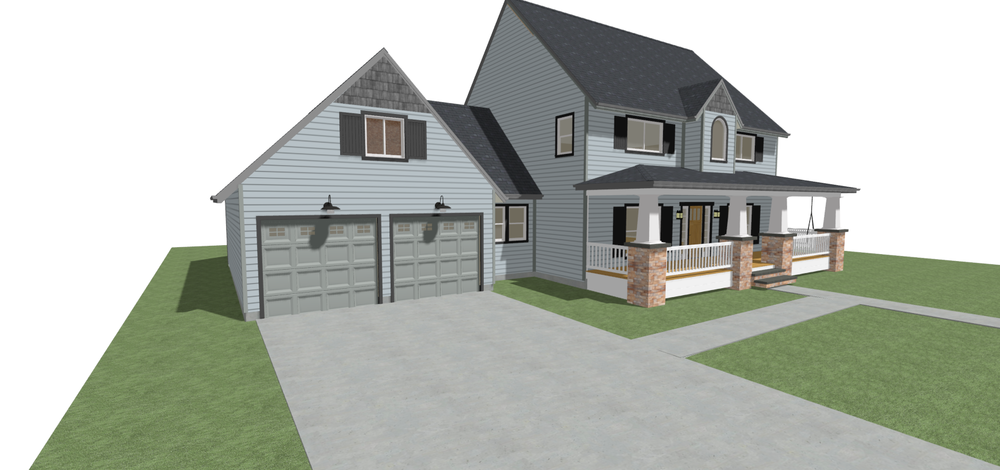 New Homeowner Ideas/Plans - Services for Remodel ideas, 3D Models, As-Built Drawings, for bidding, or for Permits.