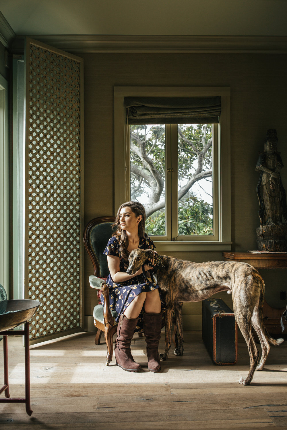 hillary jeanne photography - teryn grey, greyhound dogs, fashion blogger