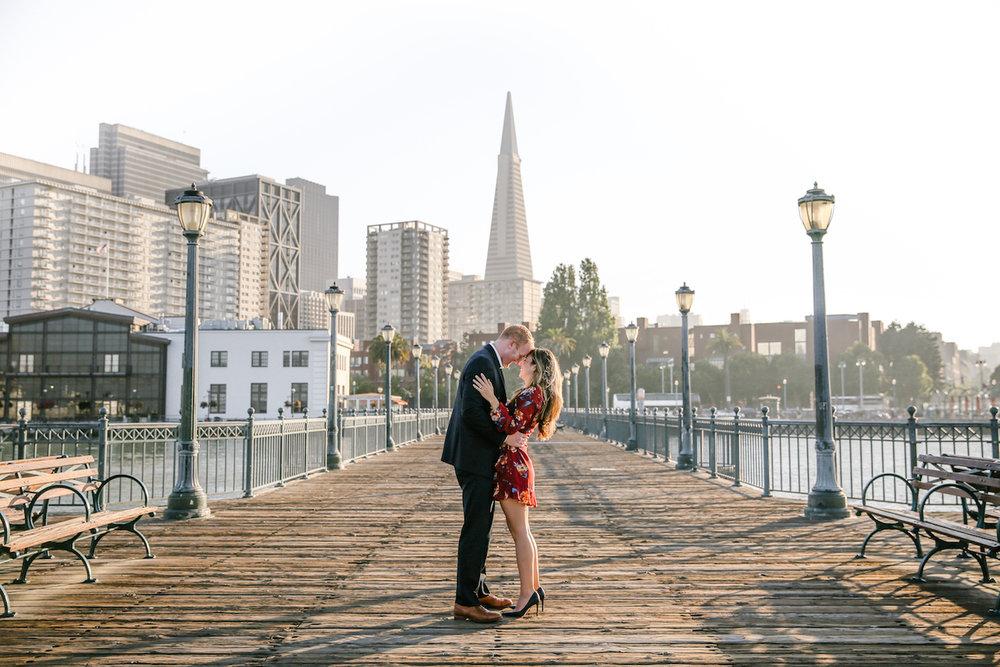 San Francisco Pier 7 Engagement Session
