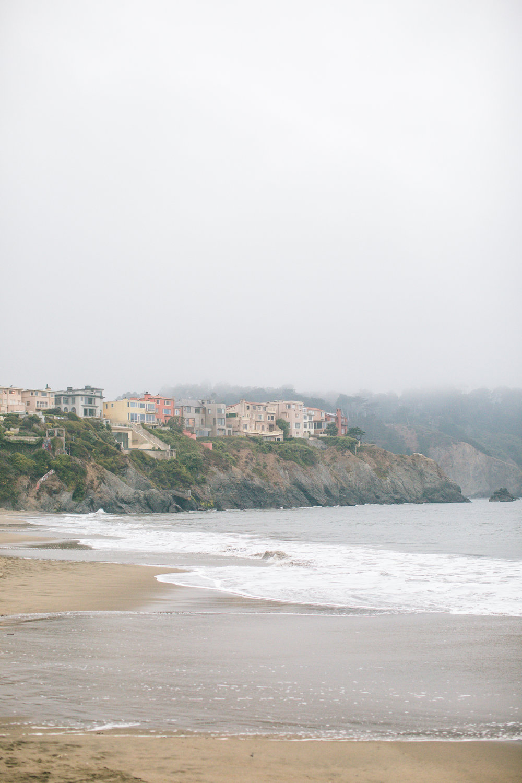 San Francisco Baker Beach houses
