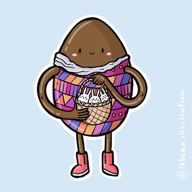 It's almost easter! I'm currently trying to find a dairy free Easter egg for Little Bud, can anyone recommend a brand that actually tastes good? I just stick to the dark chocolate myself but I'm not sure dark chocolate and toddlers are a good mix😂 In the mean time I've created a colouring page of this guy, link to download is over on my website(link in bio). . . #nottheeasterbunny #namethischaracter #colouringpage #nzillustrator #dunedinillustrator #createdunedin