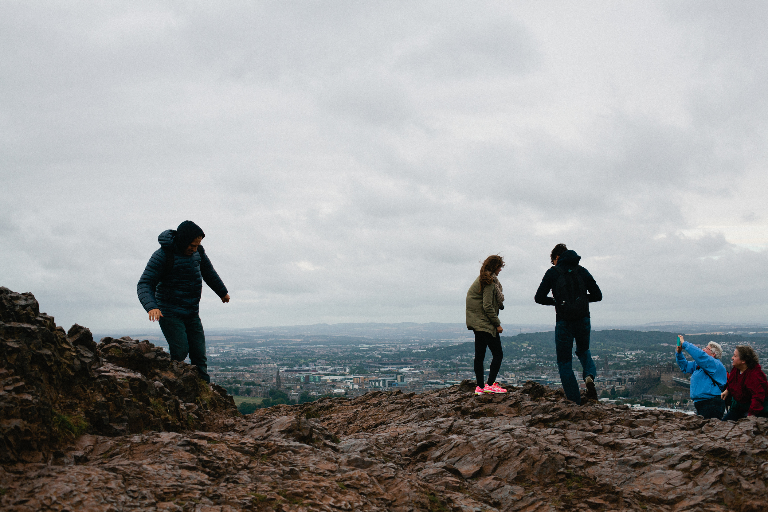 Edinburgh Arthurs Seat Scotland