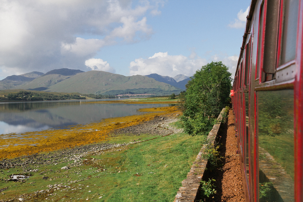 Jacobite Steam Train Ft William Mallaig Glenfinnan