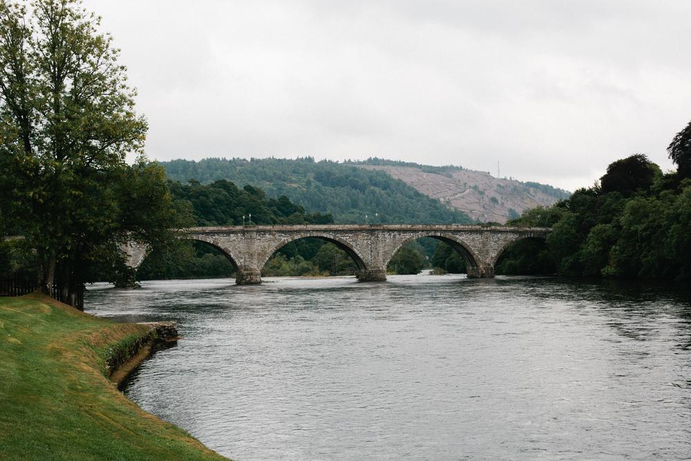 Scotland Highlands Dunkeld