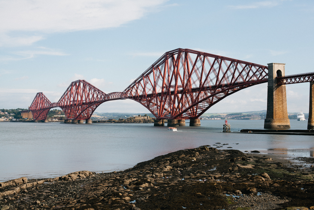 Scotland Forth Rail Bridge