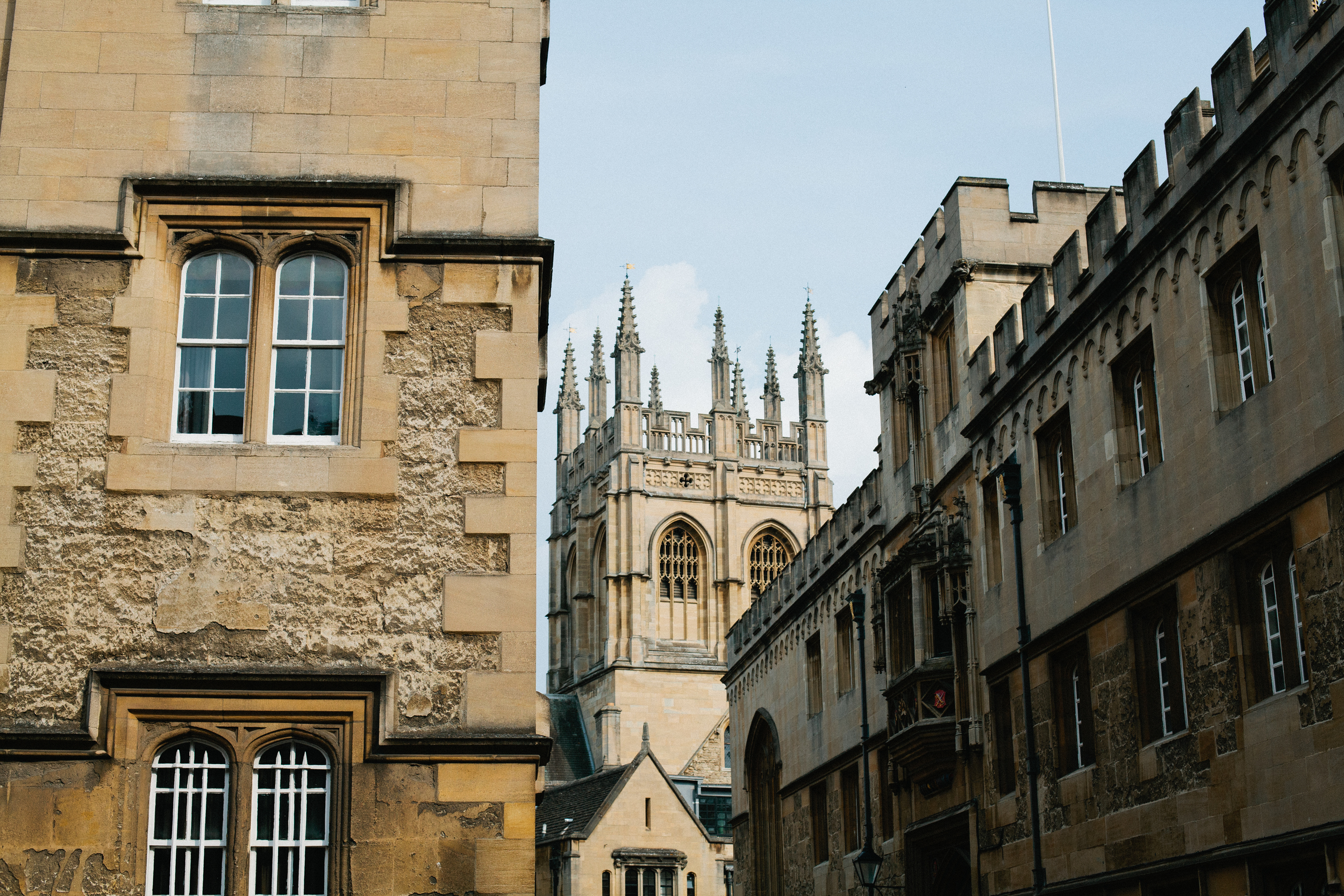 Oxford England Christ Church College