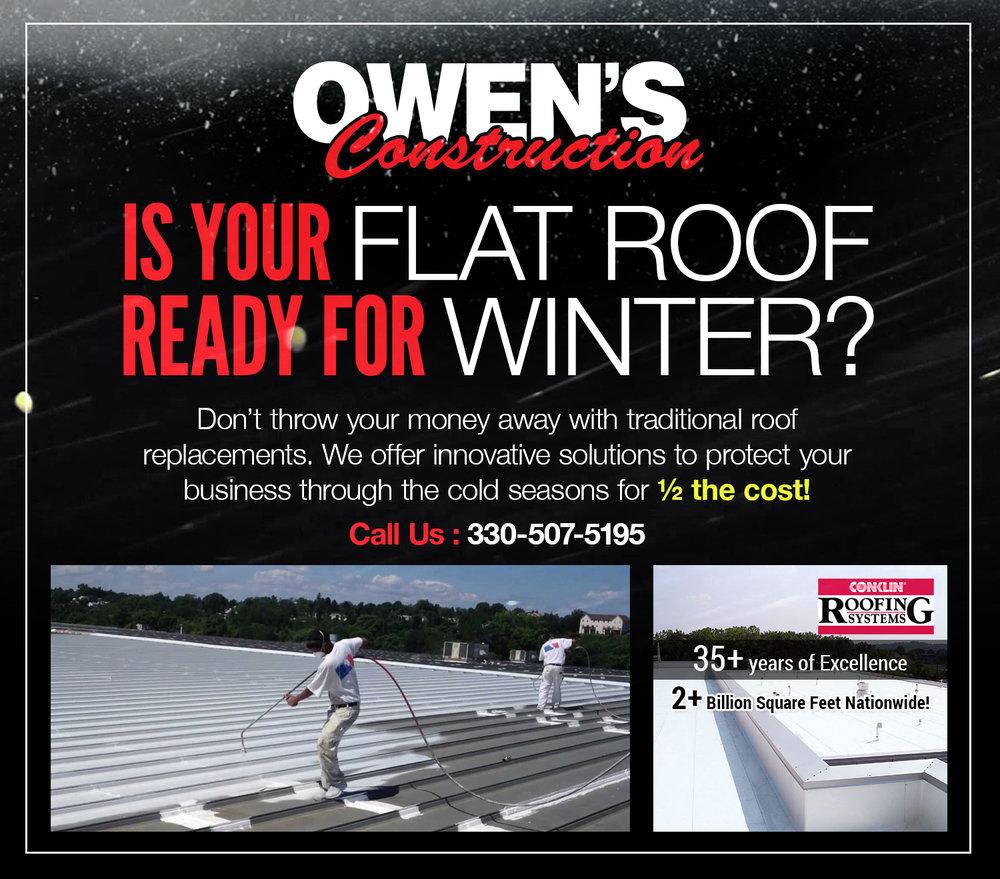 Elastomeric Roofing Ohio Storm Damage Amp Roofing