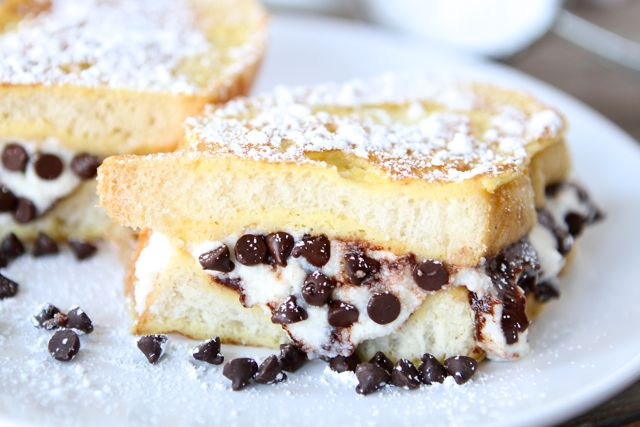 Stuffed French toast.