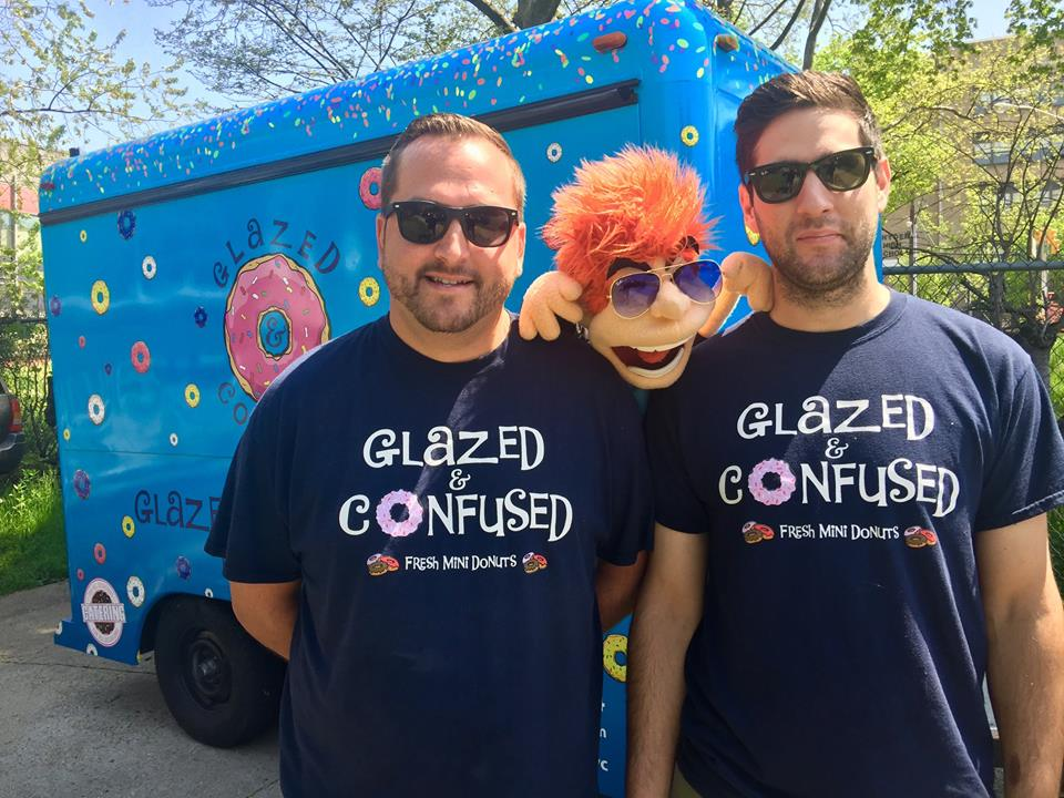 Larry and Danny - Owners of Glazed & Confused