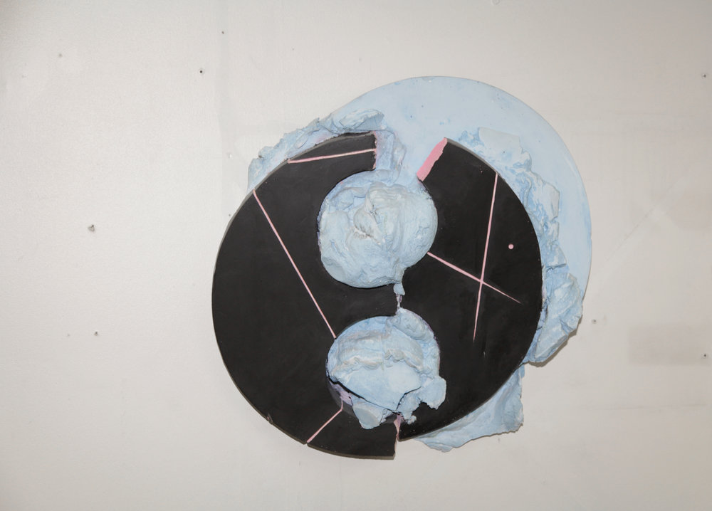 Jerry Blackman, Exhibition view detail