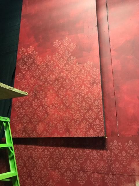 The Addams Family, 2018, Grace Arts Live (progress shot)