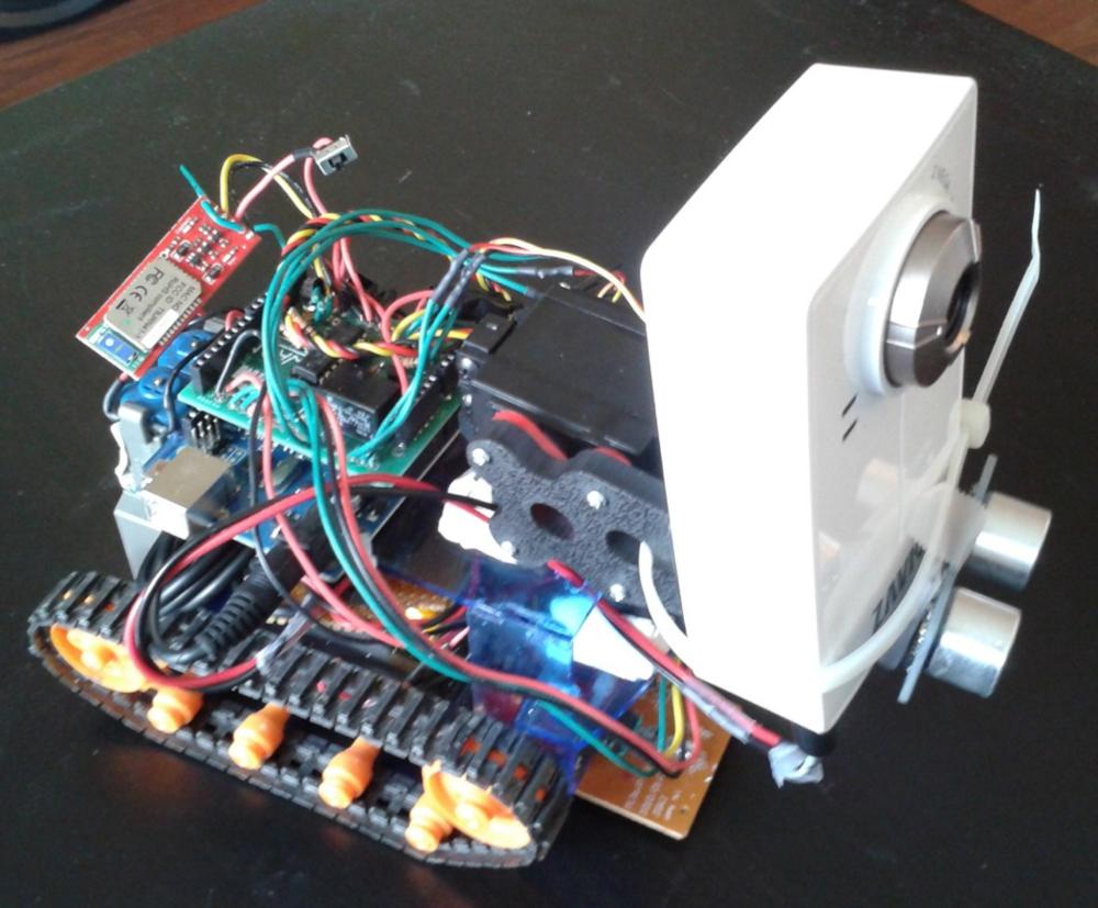Pan & Tilt Camera Bot